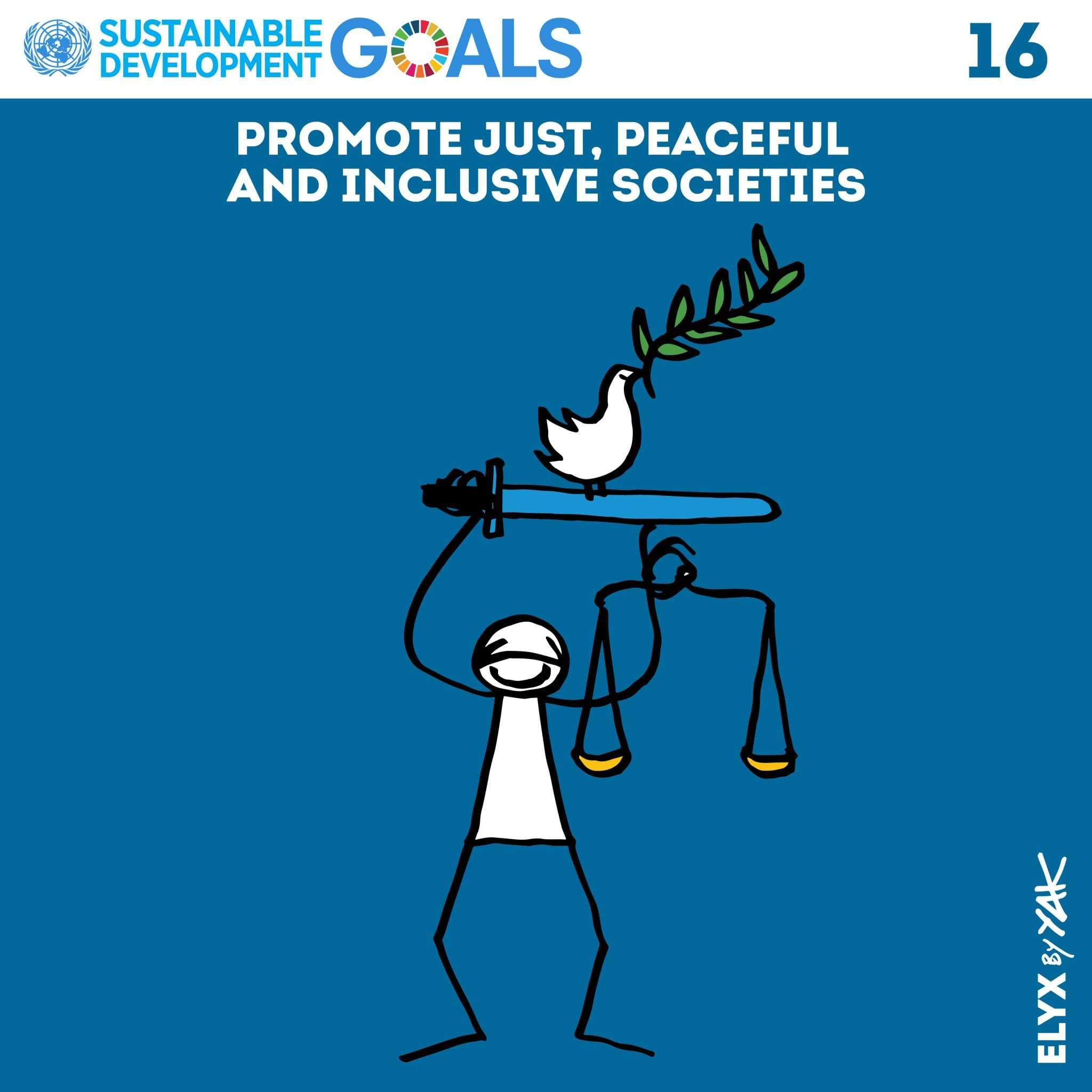 SDG 16 Peace and Justice